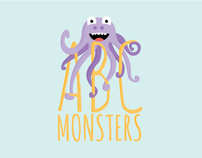 ABC Monsters | Book Design
