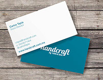 || Branding || Business Cards for HANDCRAFT