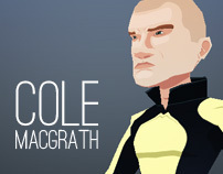 Cole MacGrath ~ LowPoly