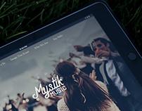 Mystik Music - Wedding DJ Website & Branding