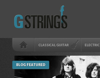 GStrings - The Social Network for Guitarists
