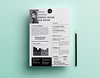 Hit Resume Template