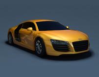 3D Audi r8