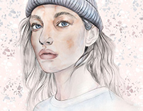 Fashion Illustration - Potrait