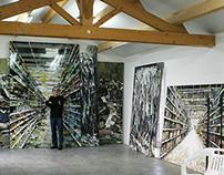 Work of Philippe Cognée