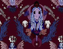 Gothic Heraldry Pattern