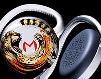 Moudio Illustrated Headphones