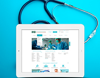 "Redesign website medical clinic ""CELT"""