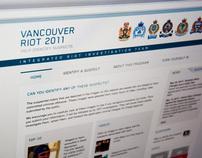 Vancouver Riot 2011 Website