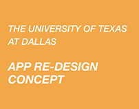University of Texas at Dallas App Redesign Concept