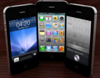 Renders de iPhone 4S