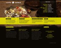 Caffe Zetka website