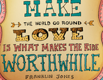 Hand Lettering & Typographic Illustrations