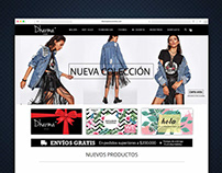 WordPress Website - Dharma Store Colombia