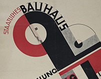 Lost typography from the Bauhaus