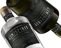 Gin/Spirit Bottle Mockup