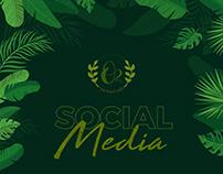O2 Plant Cafe Social Media