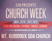 "C28 - Poster ""Church Week"""
