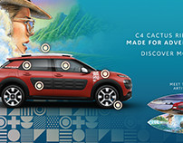 Citroen C4 Cactus Rip Curl - Interactive Advertising