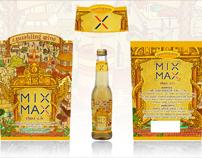 MIXMAX label design classic