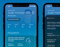 Anadolu Sigorta - Redesign / Mobile