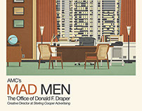 Mad Men - Don Drapers office v2