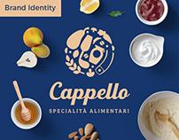 Cappello Specialty Food Brand identity design