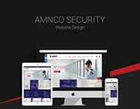 AMNCO SECURITY | WEBSITE DESIGN | 2016