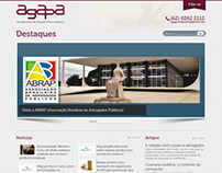 Website Institucional AGAPA