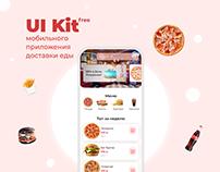 UI Kit мобильного приложения доставки еды