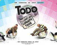 Todo Stand up comedy tour website