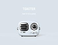 猫王•RADIOOO TOASTER