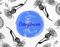 Logo for herbal cosmetics collection