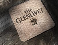 Glenlivet Coaster