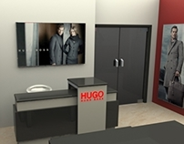 Hugo Store - Octanorm concept