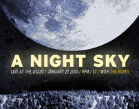 A Night Sky Promotional Poster