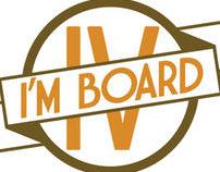 I'M BOARD 4 Skateboard Art Show