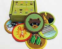 The Anderson Scout Merit Badges