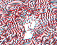 Spirit - 3D poster