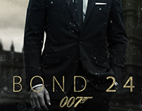 "BOND24 Poster. "" Unofficial Poster """