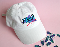 FRESH: Placement print and sticker design (personal)