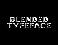 BLENDED | Experimental Digital Typeface