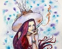 Лиловая ведьма