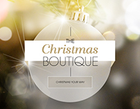 Responsive Christmas 2016 Boutique