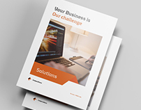 Brochure Template for Business-Indesign Template