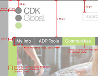 CDK Global Intranet Design