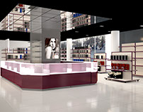 Retail interior for Minsk store