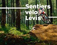 Logo Sentiers Vélo Lévis