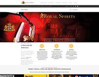 Site internet Royal Spirits