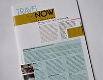 TRAVEL NOW | Editorial Design